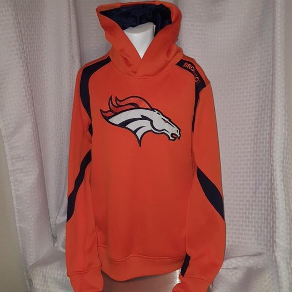 097e5528 NFL DENVER BRONCOS youth 14/16 XL hoodie